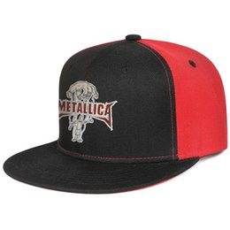 $enCountryForm.capitalKeyWord UK - Metallica band mens and women flat brim hats black snapback designer kids hats custom kids design your own fashion stylish cute unique p