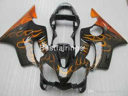 $enCountryForm.capitalKeyWord Australia - Injection molding plastic fairing kit for Honda CBR600 F4i 01 02 03 red flames black fairings set CBR600F4i 2001 2002 2003 HW07