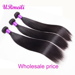 $enCountryForm.capitalKeyWord Australia - Peruvian Straight Hair Bundles urmeili straight 100% Human Hair 30 inch Bundles cheap dhgate Remy Hair Weave Extensions Natural Color