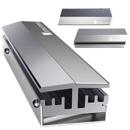 Discount solid hard disk - Universal Aluminum M.2 2280 SSD Heatsink Cooler Solid State Hard Disk Radiator All Aluminum Heat Sink