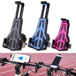 Smart Bikes NZ - Universal Anti-Slip Bicycle Bike Phone Holder Handlebar Clip Stand Mount Bracket For Smart Mobile Cell Bicycle Accessories #80225