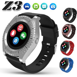 bluetooth smart watch sim Australia - Z3 Bluetooth smart watch Bluetooth Watches DZ09 Wristwatch with Camera TF SIM Card Slot Pedometer with Box for Android IOS iPhone Samsung