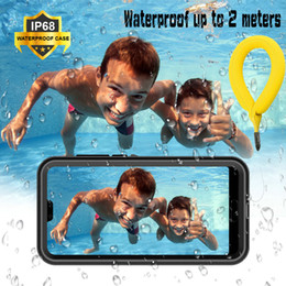 $enCountryForm.capitalKeyWord Australia - Huawei P20pro Waterproof Case Funda Huawei P20 Pro Case 360 Protect Shell For Huawei P20 Lite Case P30 Pro Water Proof Cover J190629