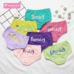 Toddler Girls Briefs Australia - Girls Briefs 2019 new cotton Girls Underwear letter Kids Panties Children Underwear Childrens Briefs Toddler Underpants Briefs 3-8year A4098