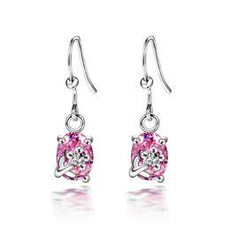 $enCountryForm.capitalKeyWord Australia - Free Shipping Korean Cute Jewelry Purified Zircon Fish Hook Drop Earrings