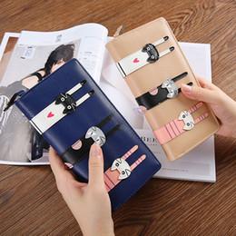 Black leather cat purse online shopping - Long Women s Wallet Korean Version Cartoon Cute Cat Zipper Pu Leather Small Purse Multi Function Zipper Clutch
