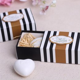 $enCountryForm.capitalKeyWord NZ - Wedding Souvenirs White Love Heart Soap Wedding Favors And Gifts Gift For Guests Event & Party Supplies