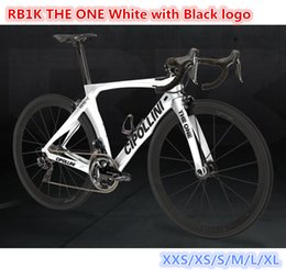 bike complete UK - T1000 3K MCipollini RB1K THE ONE Black logo White complete bike full bicycle with 105 5800 groupset 50mm carbon wheelset 003 free shiping