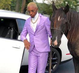 $enCountryForm.capitalKeyWord Australia - Custom shiny satin men's suit groomsmen wedding dress lapel Slim fit suit groom dance party casual blazer Prom Costume Homme