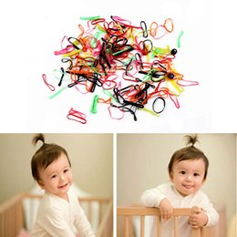 $enCountryForm.capitalKeyWord NZ - 300pcs pack Cute Children Elastic Rubber Band Candy Color Kids Hair Tie Baby Hair Rope Lovely Girls Accessories
