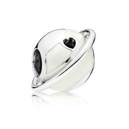 180f5e605 Newest 925 Sterling Silver Bead Planet Of Love Charm, Silver Enamel Bead  Fit Pandora Bracelet & Necklace Diy Jewelry