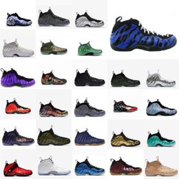 $enCountryForm.capitalKeyWord NZ - Penny Mens Hardaway Basketball Shoes Blacks Gold Sharpie Memphis Tiger Leopard Firework Youth Kids Foams One Posite Sneakers Tennis With Box