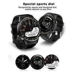 Outdoor Gps Locator Australia - F1 Sport Smart Watch GPS Tracker Locator Heart Rate Altitude Temperature Monitor Smartwatch Phone Smart Watches