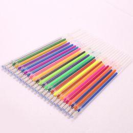 Glitter Gel pens online shopping - Gel Pen Refills Metallic Fluorescent Glitter Drawing Painting Pack Pack Refills Pack Stationery