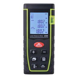 Distance Measure Lcd Australia - 7-Key 40M Digital LCD Laser Distance Meter Range Finder Measure Diastimeter