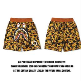 54fca25b05 Mens beach clothing style online shopping - Men Shark Printed Shorts Summer Beach  Shorts Camouflage Eye