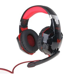 bass pc game 2019 - G2000 Computer Stereo Gaming Headphones Best casque Deep Bass Game Earphone Headset with Mic LED Light for PC Gamer chea