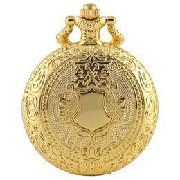 $enCountryForm.capitalKeyWord UK - Chic Quartz Pocket Watch for Women Unique Golden Clock Pattern Pocket Watches for Men Fashionable Thin Chain Pendant Watch