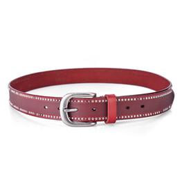 $enCountryForm.capitalKeyWord Australia - Luxury Red Casual Belts Designer Stars Fancy Waistbands Woman Fashion Shorts Belts Jeans Leather Waist Straps Ladies Classic Chastity Belt