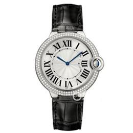 Discount men classic leather gold watch - classic model Women man watch colorful Genuine Leather fashion Lady clock Women Wristwatch male watch luxury with Diamon