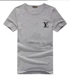 $enCountryForm.capitalKeyWord Australia - 2019 high-quality cotton new o collar short sleeve t shirt fashion brand designer men open collar shirt casual sports men short sleeve
