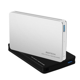 China RSHTECH Hard Drive Enclosure for 2.5 inch 7mm and 9.5mm HDD SSD Aluminum Case [Support UASP and 4TB Drives] suppliers