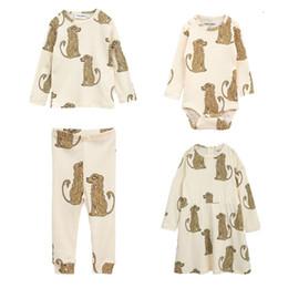 Cute Baby White T Shirt Australia - Kids T Shirts 2018 Autumn Winter Mini R Brand Lovely Cute Dog Print Long Sleeve T Shirts Tops Baby Children Cotton Fashion Tops Y190516