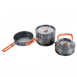$enCountryForm.capitalKeyWord Australia - Fire Maple Camping Utensils Dishes Cookware Set Picnic Hiking Heat Exchanger Pot Kettle FMC-FC2 Outdoor Tourism Tableware