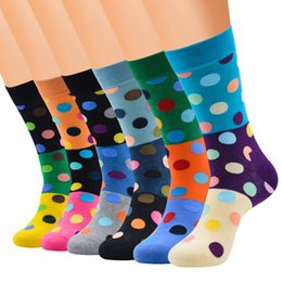 $enCountryForm.capitalKeyWord Australia - 1 5 6 Pairs Mens Women Socks Cartoon Crew Socks With Funky Christmas Decor Colorful Patterned-Combed Cotton Quilted Stockings