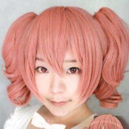 Inu X Boku Ss Cosplay UK - WIG Hot heat resistant Party hair>>> Inu x Boku SS Secret Service Roromiya Karuta cosplay wig+Dual ponytail