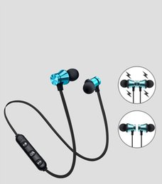 Running mp3 online shopping - Newest Bluetooth Headphones Magnetic Wireless Running Sport Earphones Headset BT with Mic MP3 Earbud For IPhone Smartphones