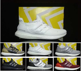 30cfd7482d4 Newest 2018 Ultra Boost 4.0 Wholesale Men Women Casual Triple Black White  Primeknit Runner 3.0 Grey Red Lightweight Walking Shoes 36-45 ultra boost  triple ...