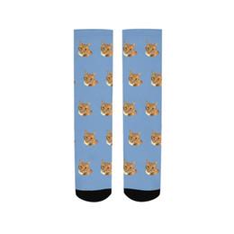 $enCountryForm.capitalKeyWord UK - Harajuku Cute Cat print Socks Men Funny animal Crew Mid Tube ankle Socks Winter Thermal Sox Christmas Gifts For Male happy socks