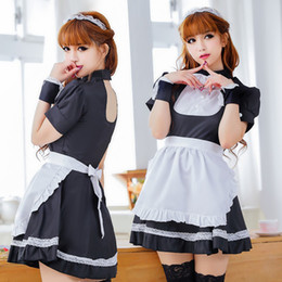 $enCountryForm.capitalKeyWord Australia - Cosplay role playing erotic lingerie black cute maid maid costume game costumes maid service