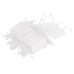 $enCountryForm.capitalKeyWord Australia - 200PCS String Jewelry Price Label Paper Pricing Tags 3 x 4.8cm
