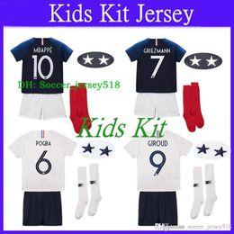 Soccer Kit Boys Australia -  ) 2018 19 Maillot De Foot Enfant Kids Kit Two 9cb00655f