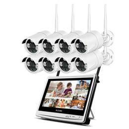 $enCountryForm.capitalKeyWord Australia - 1080P HD Camera 8CH Plug And Play 2.0 MP NVR CCTV Kit 12'' LCD Monitor Outdoor Indoor IR POE Security System