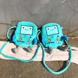 $enCountryForm.capitalKeyWord Australia - IVYYE Blue Game Model Fashion Anime Plush Shoulder Bags Soft Cartoon Tote Casual Handbag Fluffy Dolls Phone Bag Lady Girls New