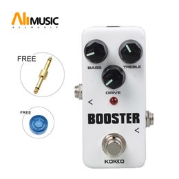 $enCountryForm.capitalKeyWord Canada - KOKKO FBS2 Mini Booster Effect Pedal Portable 2-Band EQ Guitar Effect Pedal with Gold Guitar connector