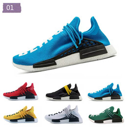 $enCountryForm.capitalKeyWord Australia - 2019Creme x NERD Solar PacK Human Race Running Shoes Pharrell Williams Hu Trail Cream Core Black Equality Trainers Mens Women Sports er Z 17