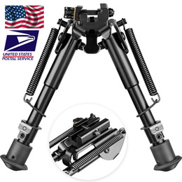 6-9 inch bipod High Shockproof Swivel Tilting Bipod with QD Mount Hunting Stand with bipod adapter on Sale