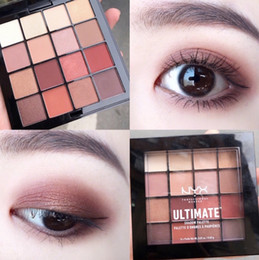 nyx eye shadow Australia - Drop shipping!!New Arrival NYX 16 colors NYX ultimate eyeshadow Palette Ombre Eye shadow Palette Shimmer Matte Makeup Cosmetics