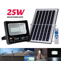 45w work light UK - 2019 New Solar Light 25W 45W 65W 125W 5730 SMD Solar Work Light Garden Floodlight Lighting with Charge time Display