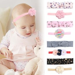 $enCountryForm.capitalKeyWord Australia - 2pcs set Fashion Baby Candy Colors Bow Baby Designer Headband Girls Elegant Hair Bows Headwear Accessories