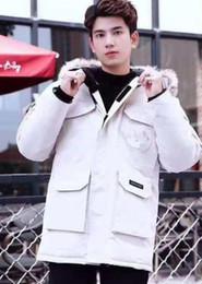 $enCountryForm.capitalKeyWord Australia - Canada Warm Manteau Fur Hooded Thick Winter Men Goose Down Jacket for Canada Male Chaquetas Overcoat Man Outwear Parka
