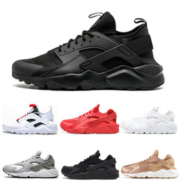 huaraches men 2021 - New Arrival Huarache 1.0 4.0 IV Casual Sneakers For Men Women Black White Sneakers Triple Huaraches Sports Running Shoes