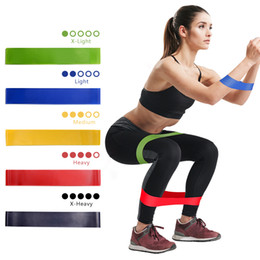rubber resistance exercise band NZ - Resistance Bands Resistance Rubber Loop Exercise Bands Fitness Strength Training Gym Yoga Equipment Elastic Bands free shipping