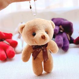 2e0d517e0bb Plush Toys Cute Small Siamese Bear Pendant Bag Joint Bear Small Doll Teddy  Plush Doll Toy