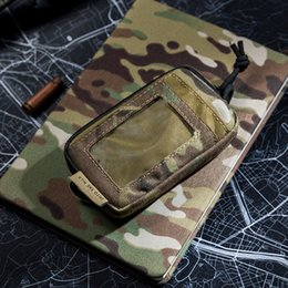Discount wallet tactical cards - utdoor Tools OneTigris Tactical Cool EDC Pouch Portable Key Change Purse Wallet Travel Kit Coin Mini Purse & Card Slots