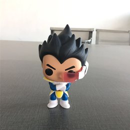 $enCountryForm.capitalKeyWord Australia - Anime Dragon Ball Hero series Super Saiyan Q version Vegeta anime ornaments hand-made boxed doll model